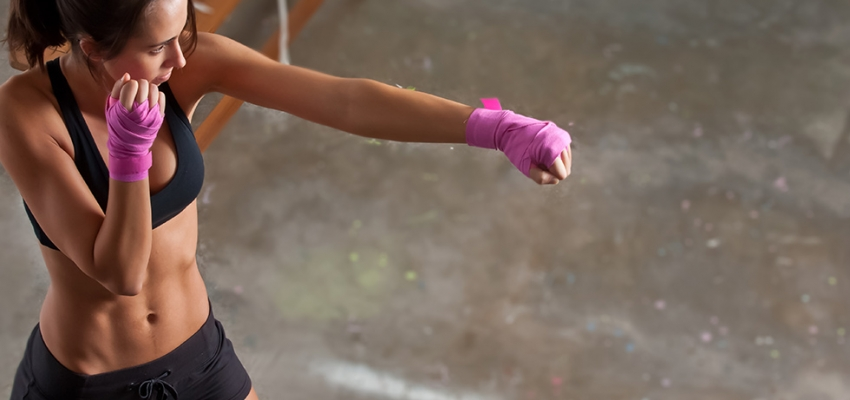 Kickboxing for woman